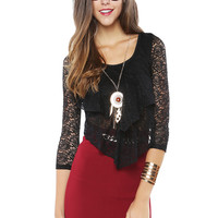 Papaya Clothing Online :: BOHEMIAN LACY NECKLACED TOP
