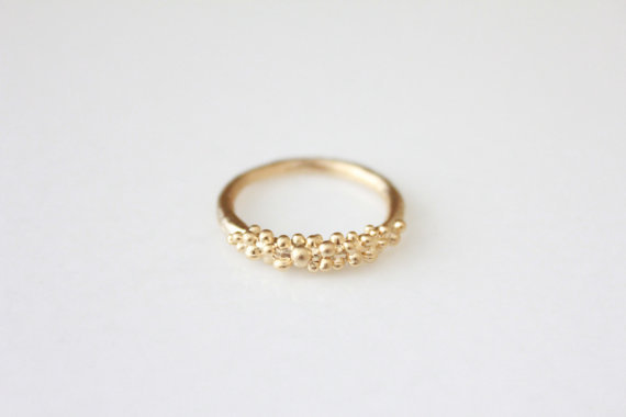 Gold Barnacle Ring