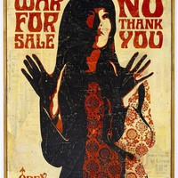 War For Sale on WOOD HPM - OBEY GIANT