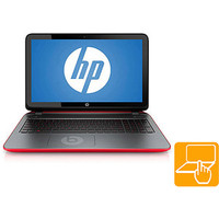 """Walmart: HP Twinkle Black/Vibrant Red 15.6"""" Pavilion Beats Special Edition 15-p030nr Laptop PC with AMD A8-5545M Quad-Core Processor, 8GB Memory, 1TB Hard Drive, Touchscreen and Windows 8.1"""