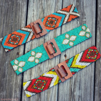 Mohican Beaded Belts