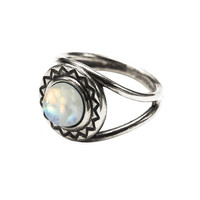 Exclusive Solar Ring in sterling silver