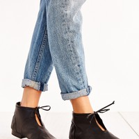 Joes Jeans Leather Tie Bootie