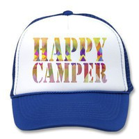 Camping Dreams - Hat from Zazzle.com