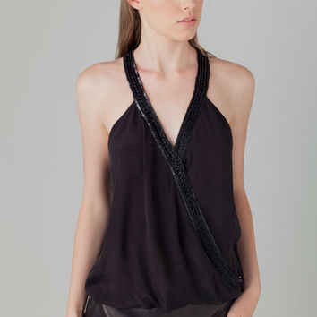 Parker Chiara Top in Black