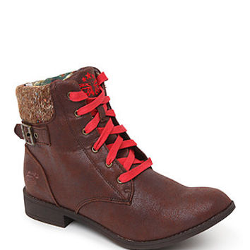 Tigerbear Republik Beam Me Up Work Boots - Womens Boots - Brown -