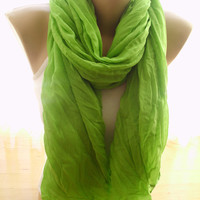 Cotton Yarn Scarves / Fashion Scarf / Ladies's Wrinkled Scarves