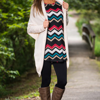 Steal My Heart Cardigan, Ivory