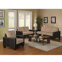 Regatta Contemporary 3-Piece Living Room Set