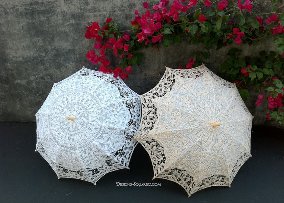 Luxurious Lace Parasol