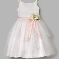 US Angels Girls' Ballerina Flower Dress - Sizes 2T-10 - Flower Girl - Bloomingdales.com