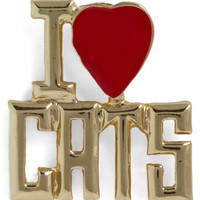 A Girls Best Friend Pin