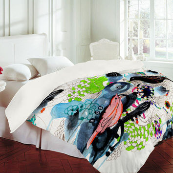 DENY Designs Home Accessories | Randi Antonsen Birds 7 Duvet Cover