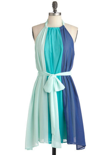 Scoop of Sorbet Dress in Blue | Mod Retro Vintage Dresses | ModCloth.com
