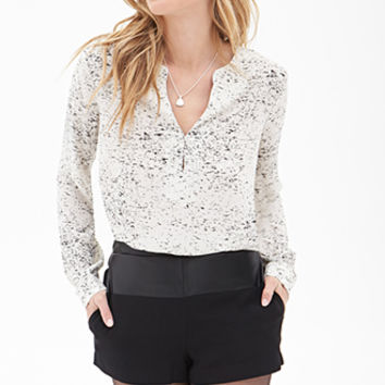 Speckled Blouse