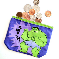 The Hulk - coin purse