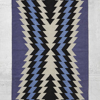 4040 Locust Geo Woven Rug - Urban Outfitters