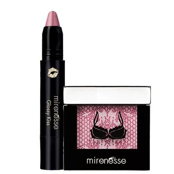 *SP Mineral Gloss N Glow - Glossy Kiss Cheeky Blush Duo - Mirenesse