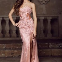 2014 Jovani Corset Prom Dress 1684