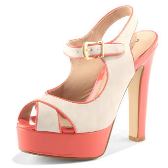 White contrast platform sandal - Heels - View All Shoes - Shoes - Dorothy Perkins