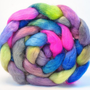 Hand Painted Wool Roving Wensleydal.. on Luulla
