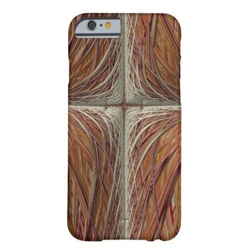 """Cross"" Fractal Art iPhone 6 Case"
