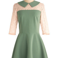 Jade with Love Dress | Mod Retro Vintage Dresses | ModCloth.com