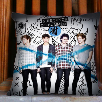 5 Seconds of Summer- Design for Pillow case