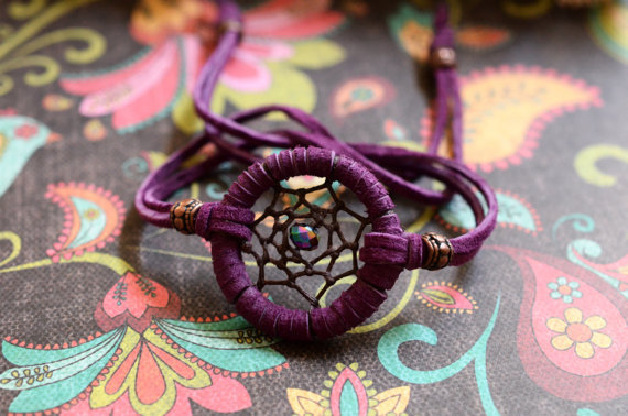 NEW COLOR  Dreamcatcher Adjustable Bracelet/ &#x27;in stock/ready to ship&#x27;