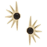 Half Sun Stud Earrings - Jewelry  - Accessories
