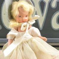 Antique bisque Doll from the Series Storybook Doll,  by Nancy Ann