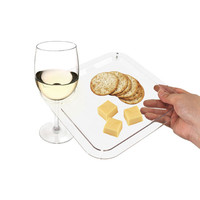 Clear and Present Plate - Set of 12