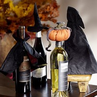 HALLOWEEN WINE BOTTLE TOPPER