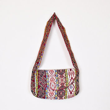 Kilim Purse Tapestry Purse Southwestern Purse Southwest Purse Tribal Print Ethnic Purse Small Shoulder Bag 80s 70s Hippie Purse Boho Purse