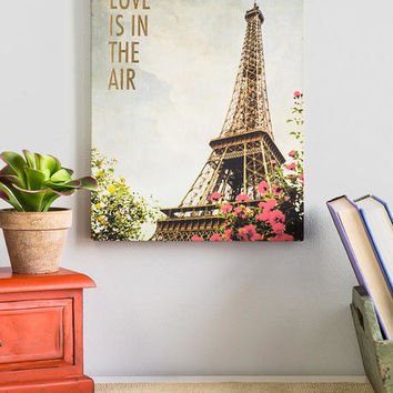 Love Is In The Air Canvas Wall Art