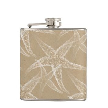 Starfish Sand Beach Flask