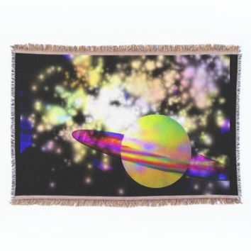 Guardian of the Galaxy throw blanket from GalacticVisions*