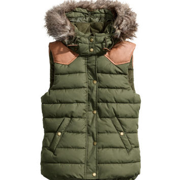 Padded Body Warmer - from H&M