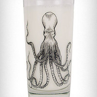 Octopus Print Zombie Glasses Set