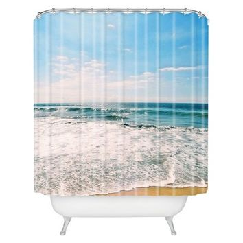 DENY Designs Take Me There Shower Curtain