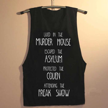 escaped the asylum yuppy shop for Tank top Mens and Girls available S - XXL customized