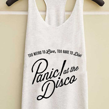 panic at the disco yuppy shop for Tank top Mens and Girls available S - XXL customized