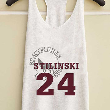 Stilinski 24 Teen Wolf s  yuppy shop for Tank top Mens and Girls available S - XXL customized