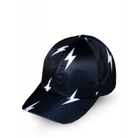 Neil Barrett Lightning Bolt Hat - Baseball Hat - ShopBAZAAR