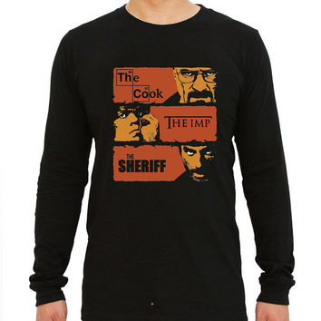 the cook the imp the sheriff for long sleeved Mens and long sleeved Girls