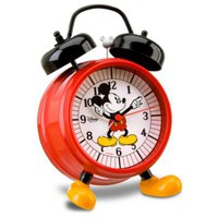 Mickey Mouse Alarm Clock with Feet | Clocks | Disney Store
