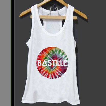 Bastille Cyrcle Dye  for Tank top Mens and Tank top Girls ZeroSaint custom