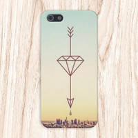 Geometric Arrow x Sunny City Case for iPhone 6 6+ iPhone 5 5S 5C iPhone 4 4S and Samsung Galaxy S5 S4 & S3