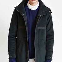 Shades Of Grey By Micah Cohen Wool Hooded Long Parka - Urban Outfitters