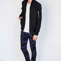 Tripp NYC Navy Blue Over-Dye Wash Skinny-Fit Jean - Urban Outfitters